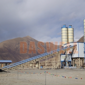 haomei Tell You How to Clean Concrete Batching Plant