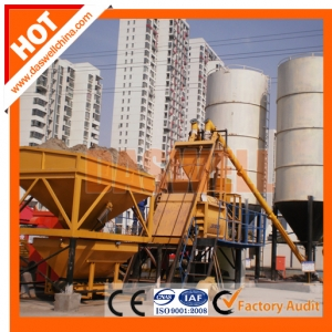 New Prospects of Commercial Concrete Batching Plant in China