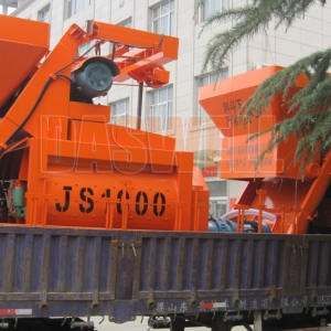 Why haomei JS1000 Concrete Mixer Is Better